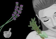 tonico viso pelli impure alle erbe - Flower Tales cosmetica naturale fai da te