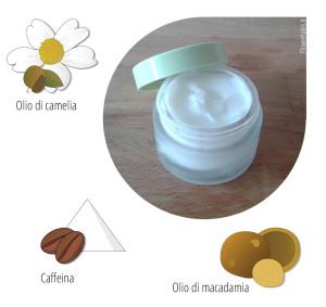 crema viso leggera - Flower Tales: cosmetica naturale fai da te