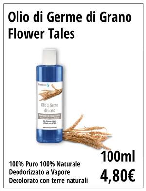 Olio di Germe di Grano puro naturale Flower Tales Cosmetics