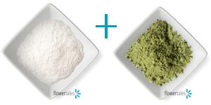 polvere pulente argilla e bicarbonato