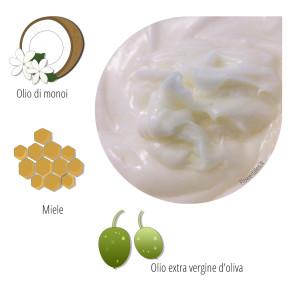 ricetta balsamo capelli all'olio di monoi - Flower Tales: cosmetica naturale fai da te