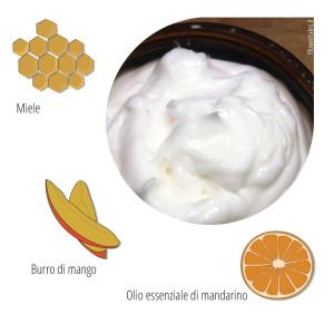 balsamo mango mandarino Flower Tales cosmetica naturale fai da te
