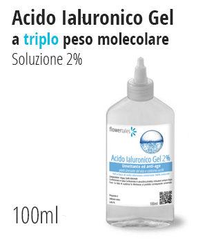 acido ialuronico gel triplo peso molecolare 2% riempitivo idratante effetto lifting anti age microrilievo