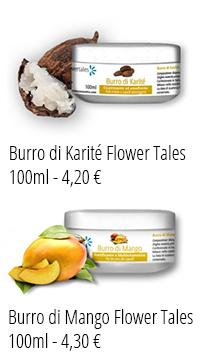 Burro di Karité e Mango cura tataggi Flower Tales