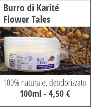 burro di karité puro deodorizzato naturale - cosmesi fai da te e rimedi naturali Flower Tales
