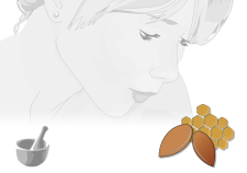 Burrocacao argan e miele Flowertales - cosmetica naturale fai da te
