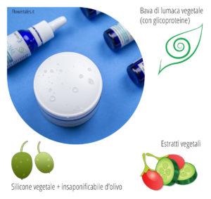 crema viso alle glicoproteine da ginseng (ingredienti principali della ricetta)