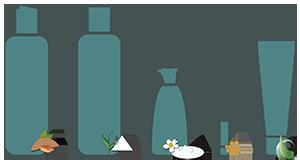 kit igiene personale completa viso - Flower Tales cosmetica naturale fai da te