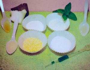 scrub viso menta cocco aloe vera ed argan Flower Tales - cosmetica naturale fai da te