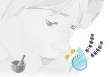 gel anti brufoli con PCA cosmesi naturale fai-da-te Flower Tales spignatto