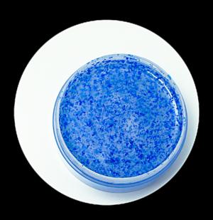 gel scrub delicato esfoliante lenitivo impurità pelli sensibili stimolante con caffeina e perle di jojoba
