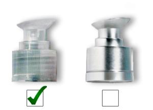 contenitori cosmetici vuoti - guida al packaging cosmetico - pompetta dispender crema - Flower Tales cosmetica naturale fai da te