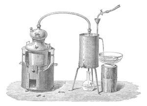 idrolati ad ultrasuoni o estratti in corrente di vapore