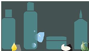 kit igiene personale completa capelli - Flower Tales cosmetica naturale fai da te