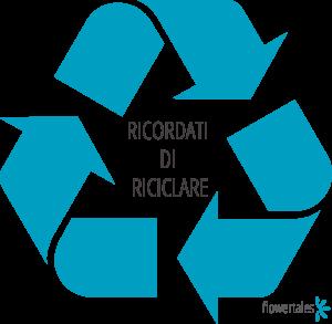 ricordati di riciclare su guida come riusare un contenitore cosmetico usato riciclaggio riuso Flower Tales cosmetica naturale fai da te