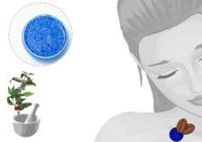 scrub delicato gel con perle di jojoba e caffeina