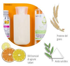 shampoo al salicilico antiforfora ricetta fai-da-te cosmesi naturale video tutorial