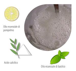 ricetta shampoo con sles e pompelmo e proteine del grano - Flower Tales cosmetica naturale fai da te