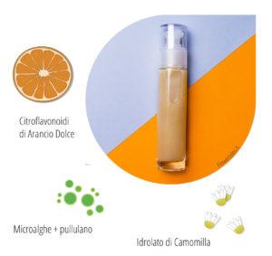 siero viso oil free alginati abbronzante rigenerante cellulare